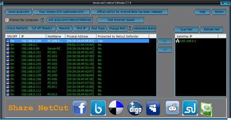 tutorial netcut android tutorial memotong koneksi pc lain