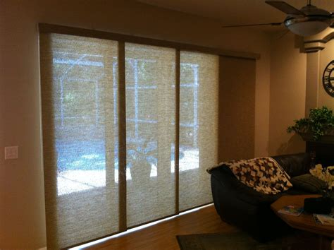 Vertical Shades For Sliding Glass Doors by Blinds For Sliding Glass Doors In Rooms Traba Homes
