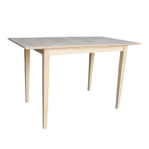unfinished shaker counter height dining table k t32x 36s