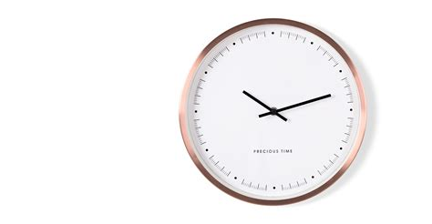 best made wall clock aurelia wall clock copper made com