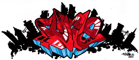 colorful wildstyle graffiti collection   effect