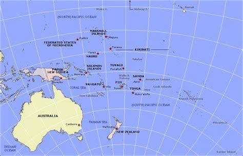 map of oceania map of oceania oceania maps mapsof net