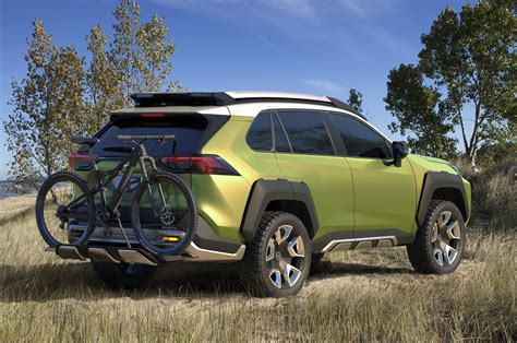 future toyota future toyota adventure concept points to high tech suv