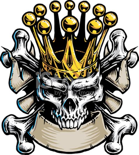 awesome flowery crown u0026 skull skull king stock vector freeimages