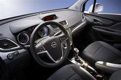 opel cars interior opel mokka small crossover photos and details