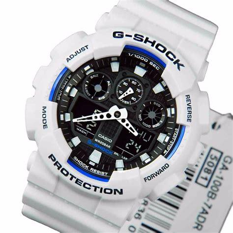 G Shock Ga 100a 7a Original relogio casio g shock ga100b 7adr branco original r 659