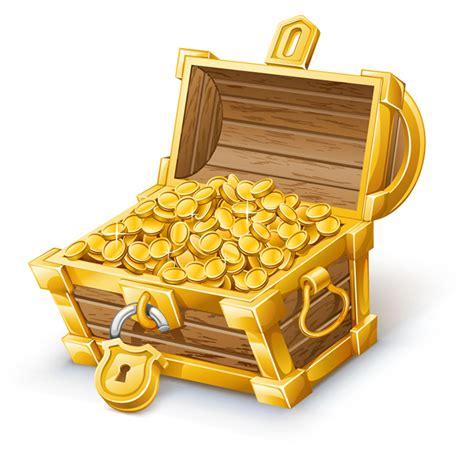 A Box Of Treasures by Treasure Box 4 Free Vector Graphic