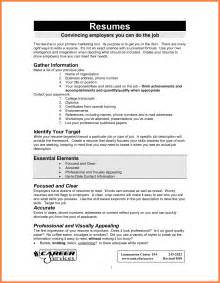 8 how to make a cv for first job bussines proposal 2017