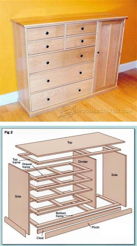 Furniture Building Plans by Best 25 Dresser Plans Ideas On