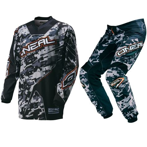 motocross gear manufacturers oneal 2016 youth mx element digi camo black bmx