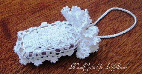 crochet lace bag pattern handcrafted by lillysmuul crochet irish lace bag
