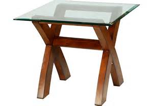 archer walnut end table end tables wood