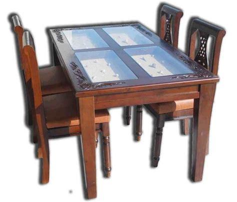 Berapa Kursi Bambu model meja makan minimalis modern dan contoh gambar
