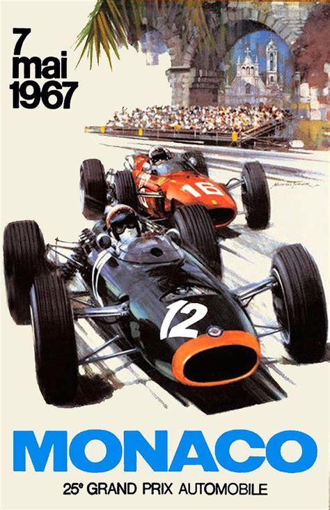 Motorrad Oldtimer Rennen Frankreich by 296 Besten Plakate Automobile Motorsport Bilder Auf
