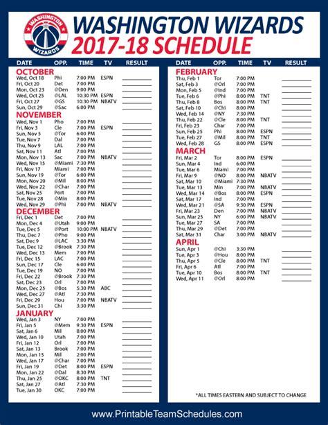 Calendario Washington Wizards Printable 2016 Lakers Schedule Calendar Template 2016
