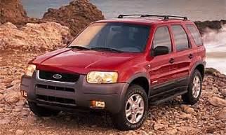 2002 Ford Escape Recalls 2002 Ford Escape Review