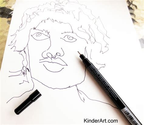 best drawing lessons blind contour drawing drawing lessons for kinderart