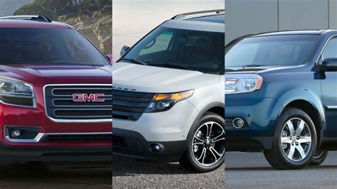 2013 Best Suvs by Best Mid Size Suvs For 2013 Carsdirect