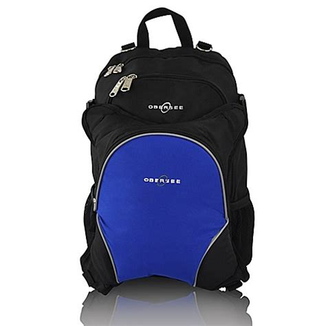 Cooler Diaperbag Two Disanto Backpack obersee bag backpack with detachable cooler in black royal blue buybuy baby