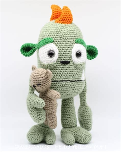 amigurumi monster pattern free amigurumi monsters book