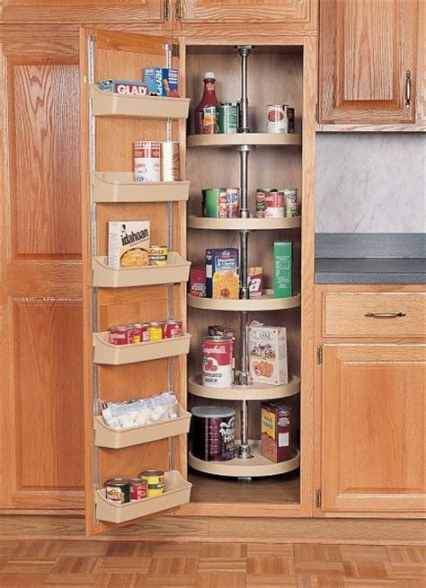 beautiful lazy susans for kitchen cabinets 15 upper 18 quot full circle pantry lazy susan almond five shelf