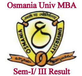 Osmania Mba Syllabus 2017 by Osmania Mba Results 1st 3rd Sem Bca Yr Ou Result 2018
