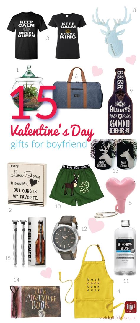 valentines gift for boyfriend 15 s day gift ideas for your boyfriend s