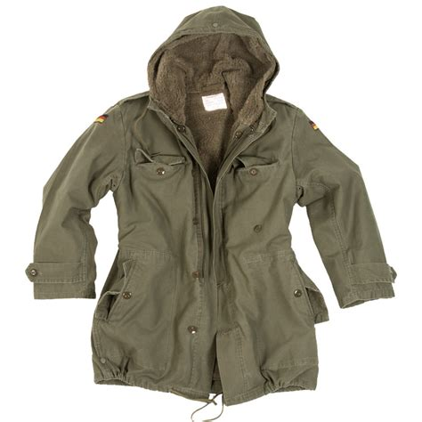 german army classic parka combat mens jacket coat