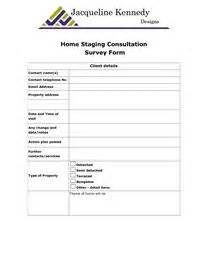 home staging report template home staging consultation survey form client details