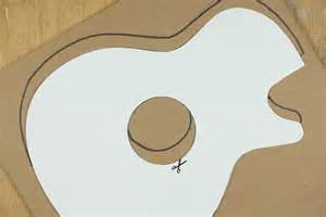 guitar cut out template best photos of guitar cut out pattern guitar cutout