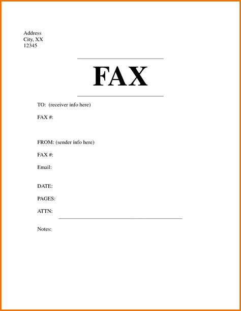 Cover Page Letter by Fax Letter Format Letter Format 2017
