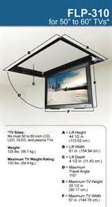 tv lift ceiling 171 ceiling systems