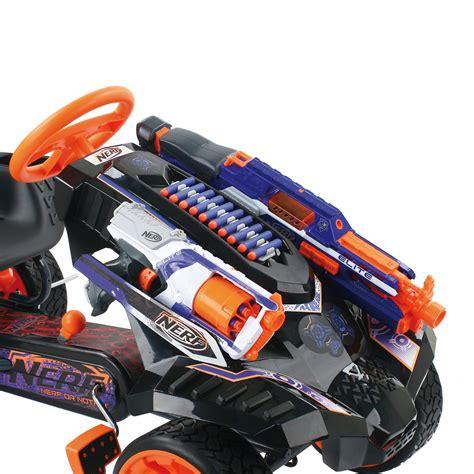 nerf car gun things we need this awesome nerf gun go kart