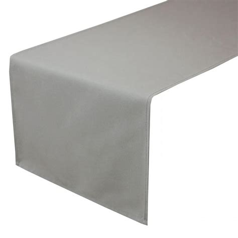 Table Runner 108 by Decor 14 X 108 Inches Gray Table Runner 2555712 Weddbook