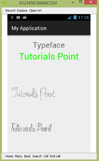 text fonts for android android custom fonts