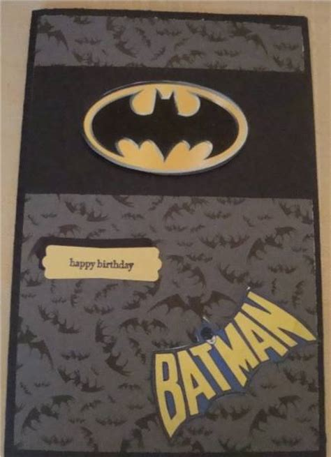 Batman Birthday Card Batman Birthday Card By Terriharry Cards And Paper