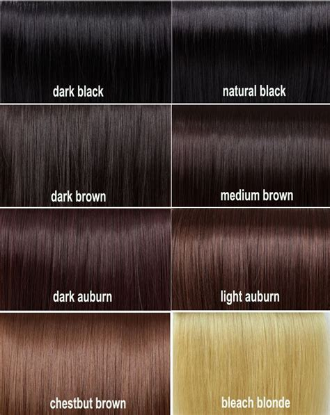 a hair color chart to get glamorous results at home best 25 hair color charts ideas on