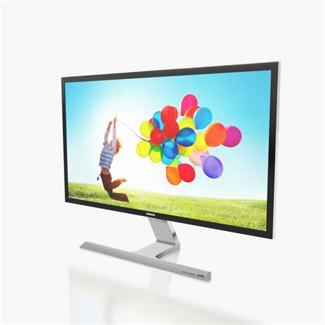 Monitor Samsung U28d590d 3d model monitor samsung u28d590d