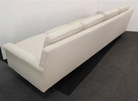 boucle sofa thayer coggin sofa in boucle fabric at 1stdibs
