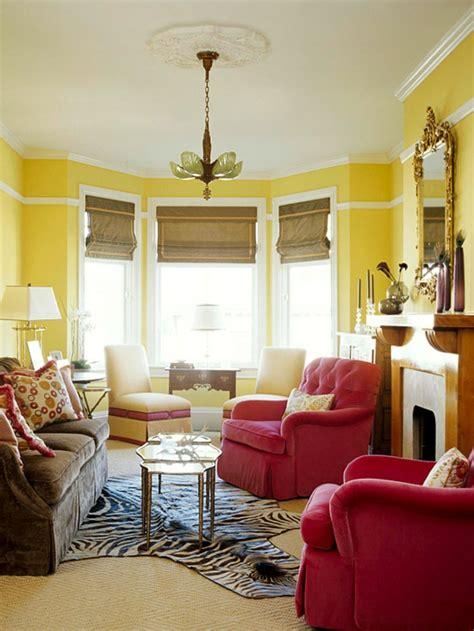 vorhänge nach mass dekor wohnzimmer gelb