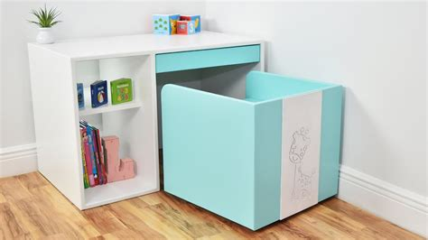 modern diy desk and chair for