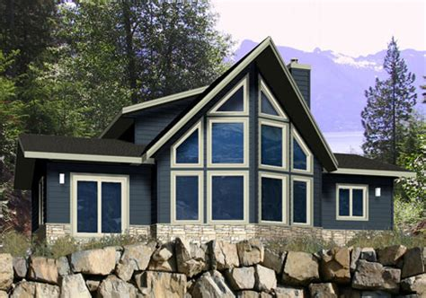 House Plans The Everett 2 Cedar Homes Prow House Plans