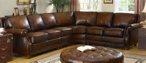 Brown Sofa And Loveseat Sets Leather Sectional Artisan Leather Sectionals Living Room