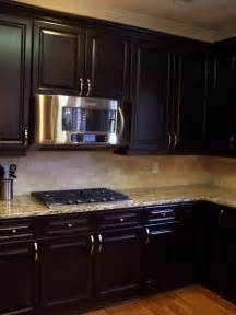 espresso stained kitchen cabinetry general finishes gel stain is paint bathroom cabinet