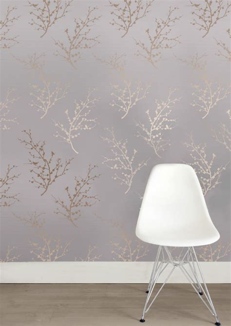 tempaper wallpaper edie bronze removable wallpaper by tempaper