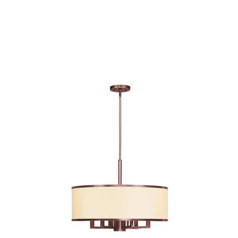 livex lighting providence 7 light vintage bronze