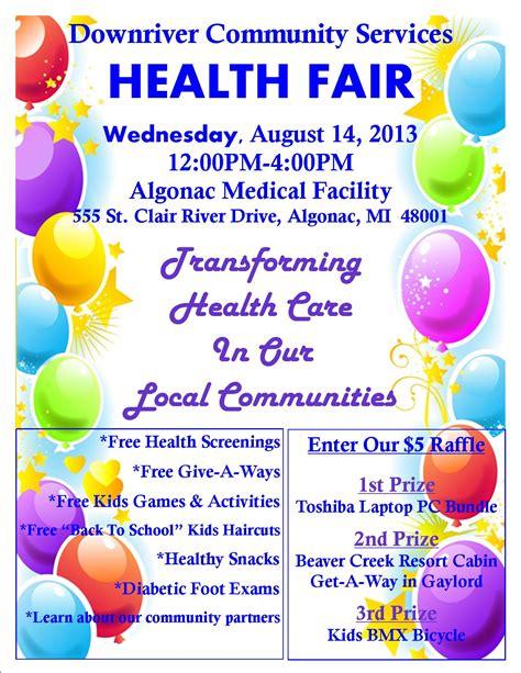 7 Best Images Of Community Health Fair Flyer Templates Health And Wellness Fair Flyer Template Community Health Fair Flyer Template