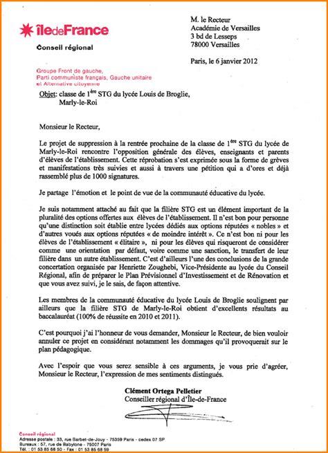 Exemple Lettre De Motivation Pour Lycée 10 lettre de motivation pour changer de lyc 233 e exemple lettres