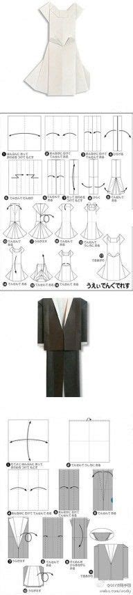 How To Make Origami Wedding Dress - origami on origami 3d origami and origami