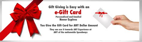 Experience Gift Cards - nascar racing experience gift card nascar racing experience